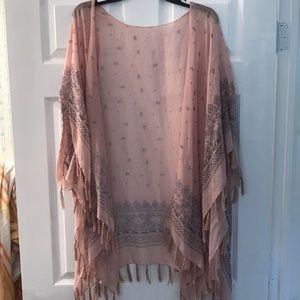 Other - Pink Kimono with tassels